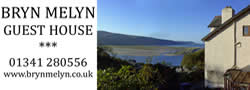 Bryn Melyn Guest House, Panorama Hill, Barmouth